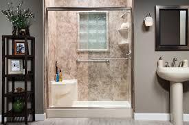 diy convert bathtub to walk in shower ideas
