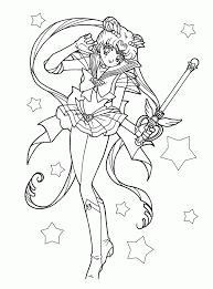 Small Picture Sailor Moon Coloring Pages Printable Szukaj W Google Sailor