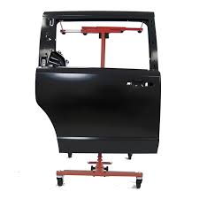 automotive ultrarack paint stand with car door