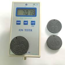 scalar energy pendant meter displays ion ouput at over 7000 ion count