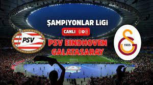 PSV Eindhoven Galatasaray şifresiz canlı maç izle - Tv100 Spor