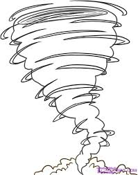 tornado coloring pages. Exellent Pages TornadoColoringPages  How To Draw A Tornado Step 4 In Tornado Coloring Pages
