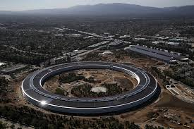 new apple office cupertino. An Aerial View Of The Apple Headquarters On April 28, 2017, In Cupertino, California. PHOTO: AFP New Office Cupertino