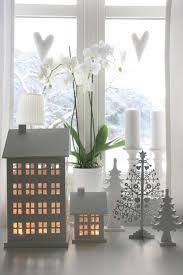 Decoration In Office Windows In A Scandinavian Style
