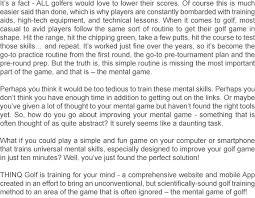 Q And A Game Thinq Golf Thinq Golf Q Club Membership Brain Games For Golf