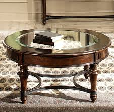 liberty kingston plantation cognac round cocktail table the classy home