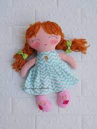 Búp bê dành cho bé từ 3 tuổi... - Búp Bê Vải Handmade BONNY