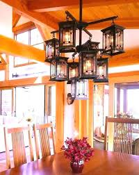 gorgeous craftsman chandelier 8 mission style lighting fixtures chandeliers spanish outdoor fixture