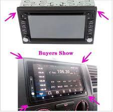 <b>Автомобильная рамка</b> для универсальной 2 Din Авто Радио ...