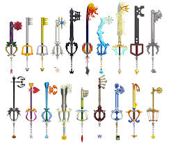 Small Picture All 18 of Soras Keyblades plus Mickeys Keyblade from the first