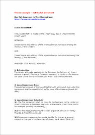 Loan Contract Car Loan Contract Template Private Agreement Template Agreement Templat 22