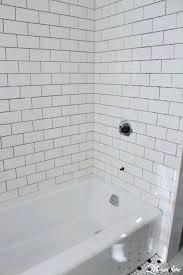 iron bathtub how to move a cast iron bathtub tub with white subway tile renovation kohler