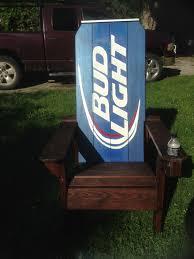bud light chair