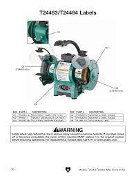 Grizzly T24463 6 Bench Grinder With Work Light Shop Tools And Machinery At Grizzly Com