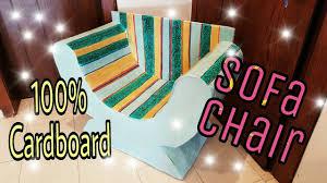 make cardboard furniture. DIY: Cardboard Furniture/ Chair/Sofa, How To Make : Furniture