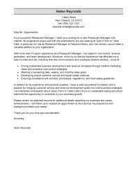Cover Letter For Operations Manager Sample Cover Letter Technical ...