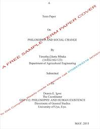 philosophy and social change a term paper education ia philosophy and social change a term paper education nairaland