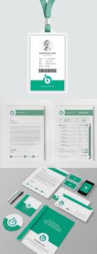 Office Stationery Design Templates Best Corporate Stationery Design Templates Graphics Design
