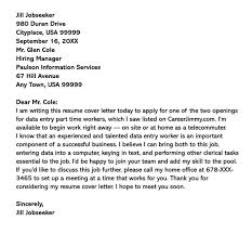 Part Time Job Cover Letter 12 Sample Letters Examples