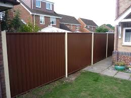 white fence panels. 10960453_854273344613981_8196650485646401348_o; 6597_1030714506969863_4588422987302071197_n; Colourfence Brown And White Fence; Garden Fence Panels
