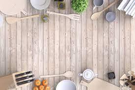 Kitchenware. Blank Template ...