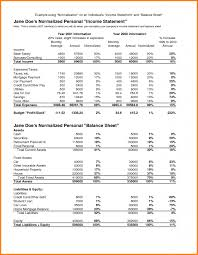 Balance Sheet Format 24 Formal Income Statement And Balance Sheet Format Primary Write 7