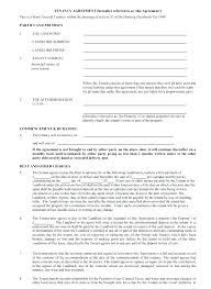 Tenancy Agreement Templates Ideas Sample Doc Rent Document – Kensee.co