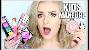 full face using only kids makeup challenge sally jo