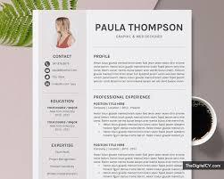 Modern Cv Template For Ms Word 2019 2020 Simple Basic Resume Template 1 3 Page Creative Resume Professional Resume Job Resume Editable Resume