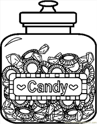Small Picture candy coloring pages printable candy printable free coloring pages