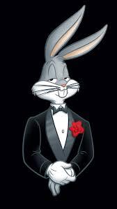 looney tunes bugs bunny rabbit tuxedo flower 4k sony xperia z5 premium dual hd wallpaper background