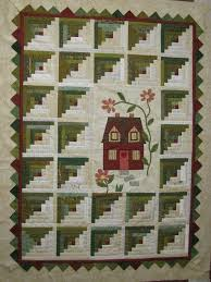 32 best images about log cabin style quilts on Pinterest | Quilt ... & Love this Log Cabin quilt! Adamdwight.com