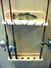 fishing pole storage racks wall mount 6 rod rack for jeep wranglers holder holders pontoon fishing pole