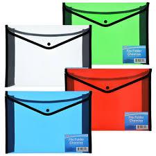 file folders.  Folders Jot Plastic U0026 Nylon File Folders With Snap Closure On