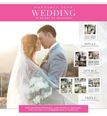 Announce Your Wedding In Brides Of Oklahoma Magazine