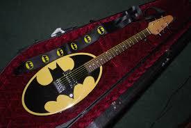 galveston world and lunar domination six flags batman logo guitar