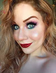 disney s princess ariel inspired glittery makeup tutorial tha eyeball queen