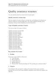 Sample Resume Quality Control Resume Quality Control Examples Najmlaemah 22