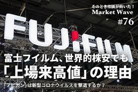 富士 フイルム 株価 アビガン