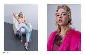 pastel stripe trousers designer ryan cowie right iona pink faux fur coat pretty little thing stripe metallic dress zara
