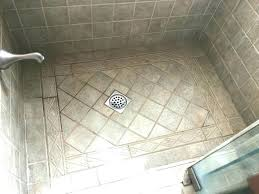 best grout for shower floor how