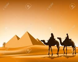 Small Picture Camel Caravan clipart desert drawing Pencil and in color camel