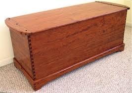 custom made dovetailed blanket chest