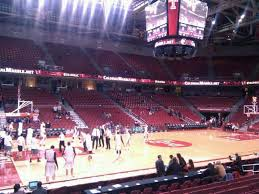 Liacouras Center Seating Chart Liacouras Center Section 115 Row L Seat 3 Temple Owls Vs