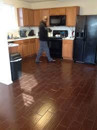 Best Wood Floor For Kitchen Divine Best Wood Like Flooring For Floor Frugal Ceramic Tile Pros
