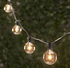 15 ft White Market String Lights