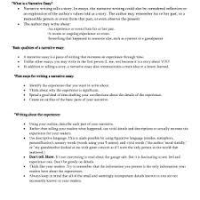 cover letter narration essay examples narrative essay examples