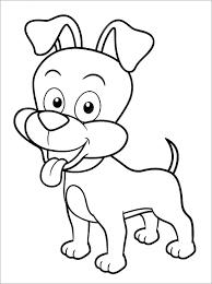 Bộ sưu tập 50 bức tranh tô màu con chó đẹp dành cho bé - Zicxa books