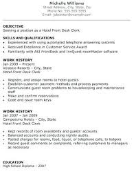 resume for front desk front desk agent resume emelcotest com