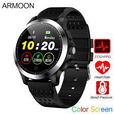<b>Smart Watch</b> W8 ECG <b>PPG</b> Heart Rate Bracelet Sleep Monitor Blood ...